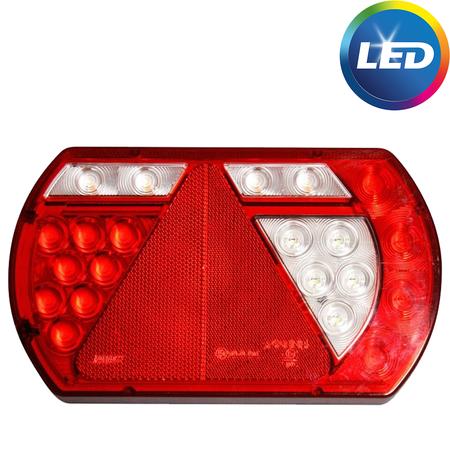 LED achterlicht met ingebouwde weerstanden